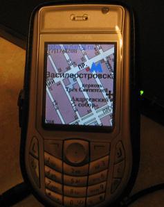 SpbMap S60: скриншот #1